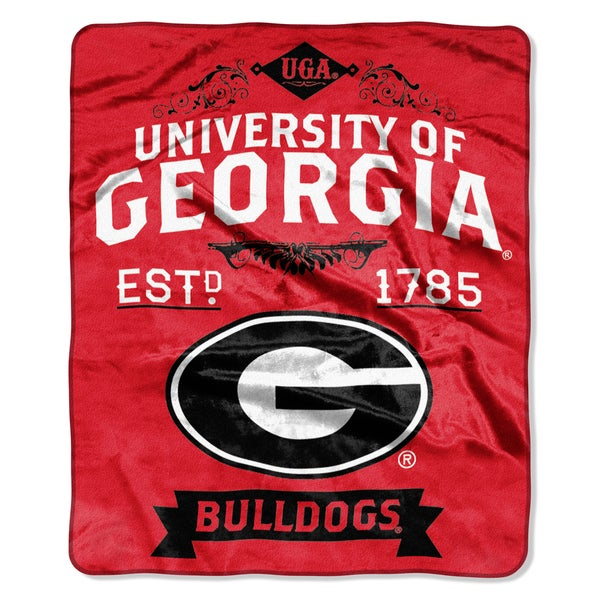 COL 704 Georgia Label Raschel Throw