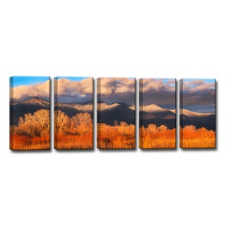 Ready2HangArt™ 'Taos Mountains' by Bartlett Hayes