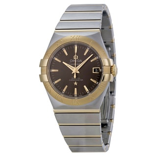 Omega Men's 12320352006001 Constellation Grey Watch