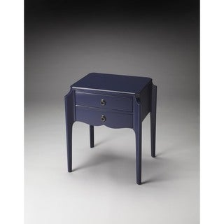 Butler Wilshire Navy Blue Wood Accent Table
