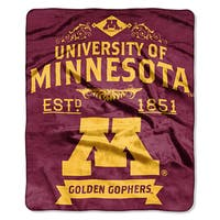 COL 704 Polyester Minnesota Label Raschel Throw