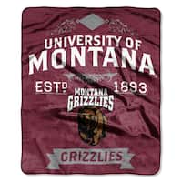 COL 704 Polyester Montana Label Raschel Throw