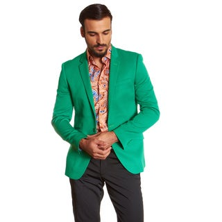Suslo Couture Men's Etan Green Sport Coat