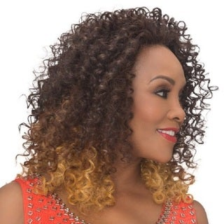 Vivica A. Fox Fresno-V Futura Black Ombre-effect Synthetic Heat-resistant Wig