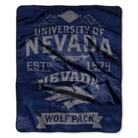 COL 704 Polyester Nevada Reno Label Raschel Throw