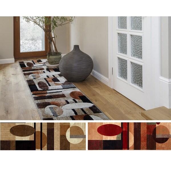 Home Dynamix Tribeca Collection Contemporary Area Rug (1'10 x 7'3)