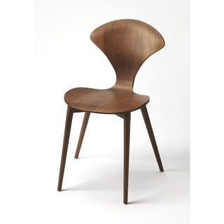 Butler Metropolitan Brown Wood Modern Accent Chair
