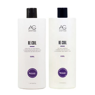 AG Curl 33.8-ounce Recoil Shampoo and Conditioner 2-piece Set