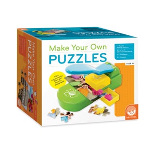 MindWare MW68326 5.25-inch x 8-inch x 5.25-inch Make Your Own Puzzles