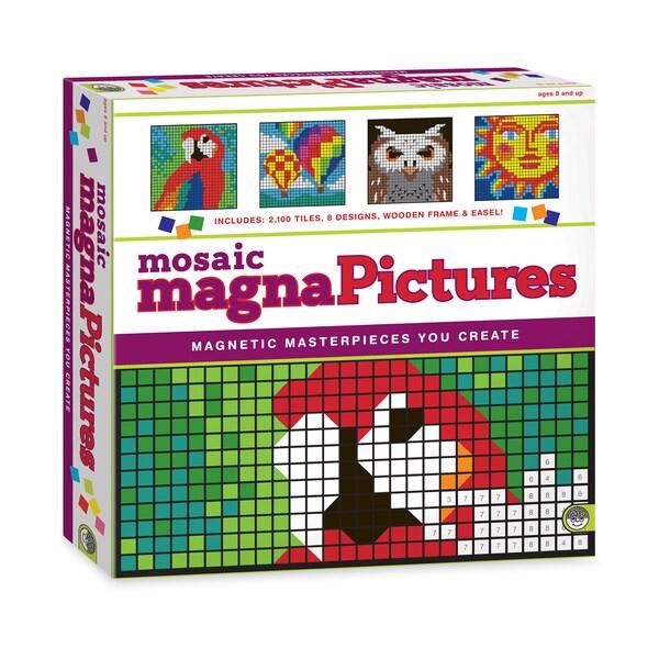 MindWare Mosaic MagnaPictures Magnetic Tiles Set