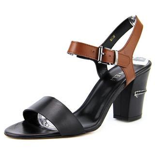 Vaneli Women's Candida Black Faux Leather Dress Shoes