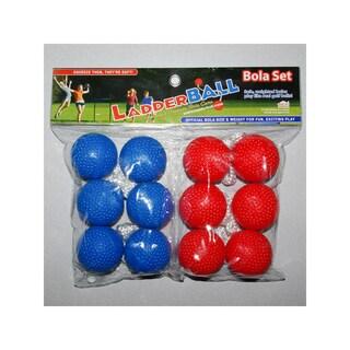 Maranda Enterprises LLC Red and Blue Ladderball Bola Set