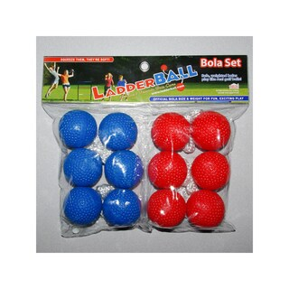 Maranda Enterprises LLC Red and Blue Ladderball Bola Set