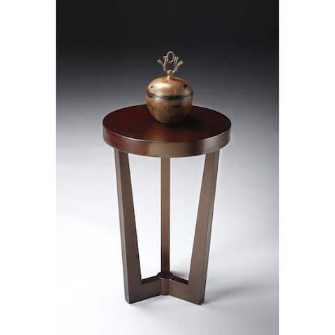 Handmade Butler Aphra Merlot End Table