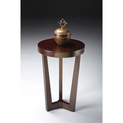 Handmade Butler Aphra Merlot End Table (China)