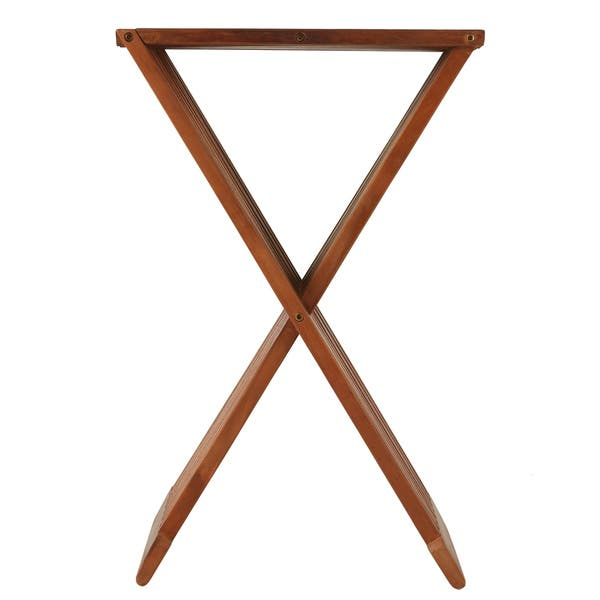 Sensational Bare Decor Solid Teak Wood 24 Inch High Leaf Folding Counterstool As Is Item Spiritservingveterans Wood Chair Design Ideas Spiritservingveteransorg