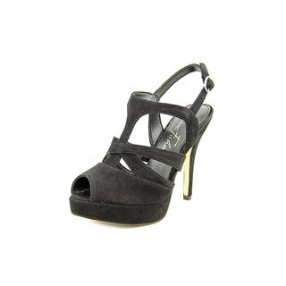 Marc Fisher Women's 'Abart' Black Suede Dress Shoes