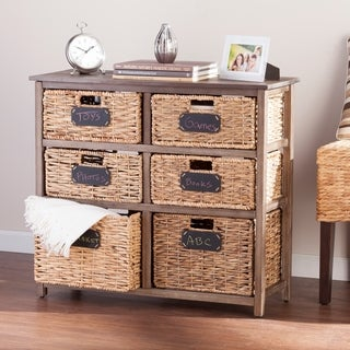 Harper Blvd Quimby Coastal 6-drawer Storage