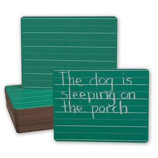 Green 9-inch x 12-inch Chalk Story Board