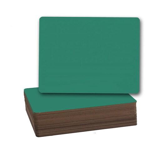 Flipside Green 9.5-inch x 12-inch Chalk Board (Pack of 24)