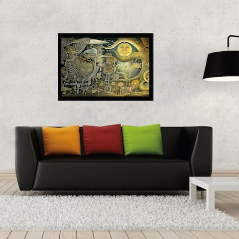 Out of the Darkness' 36-inch x 24-inch Wall Plaque