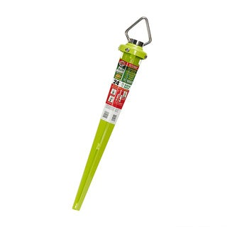 Green Stainless Steel 24-inch Rotating Spike
