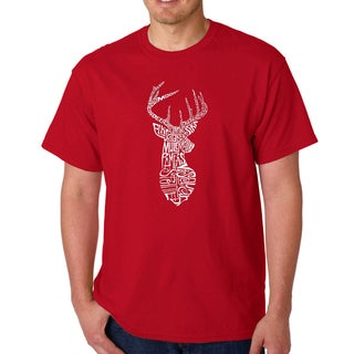 Men's 'Types of Deer' T-shirt
