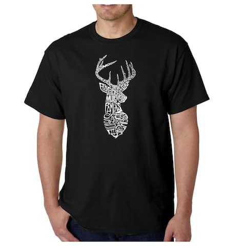 Men's 'Types of Deer' T-shirt