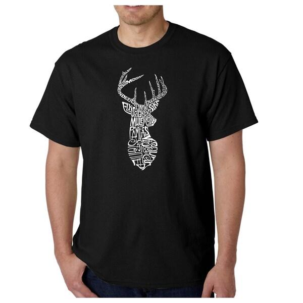 Mens Types of Deer T-shirt