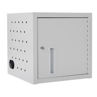 Luxor Grey Steel Desk Tablet Charging Station