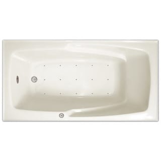 Signature Bath White Acrylic 60-inch x 32-inch x 17.5-inch Drop-in Air Bath