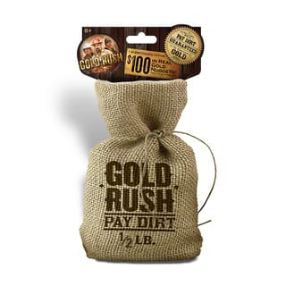 Pay Dirt Gold Company Half Pound Bag of Pay Dirt|https://ak1.ostkcdn.com/images/products/12043080/P18913788.jpg?impolicy=medium