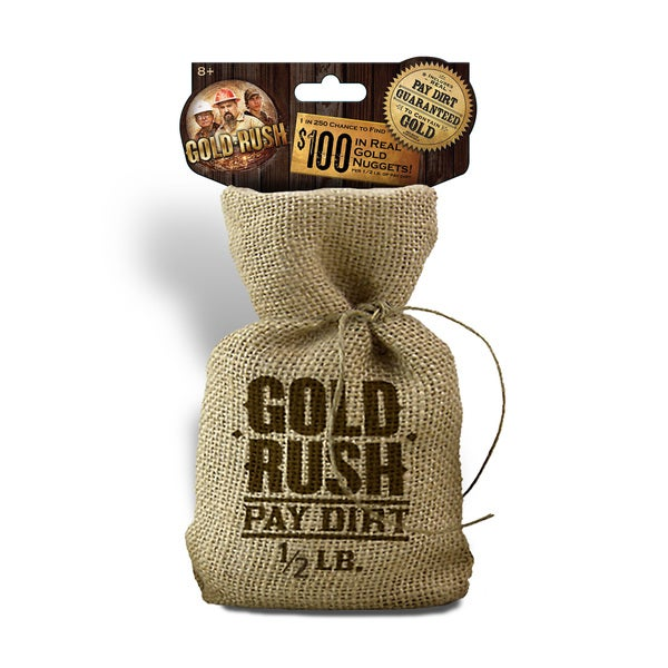 Pay Dirt Gold Company Half Pound Bag of Pay Dirt