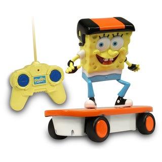 NKOK Remote Control SpongeBob Skateboarder