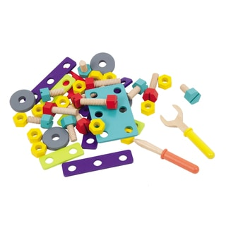 Boikido Wooden DIY 40 Piece Playset