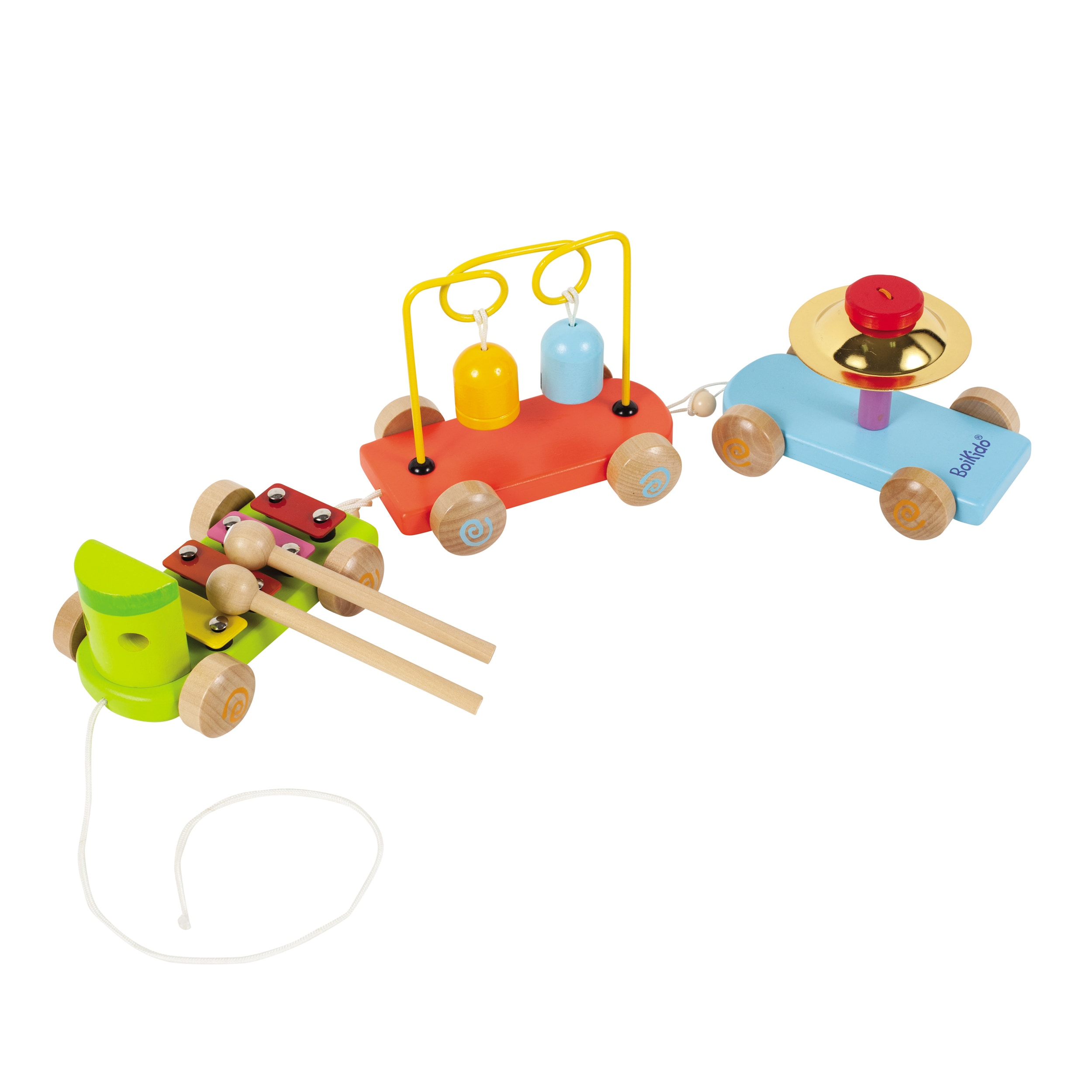 Boikido Wooden Musical Train (1), Multi