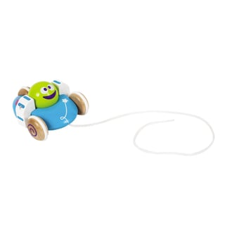 Boikido Wooden Flying Saucer Pull Toy