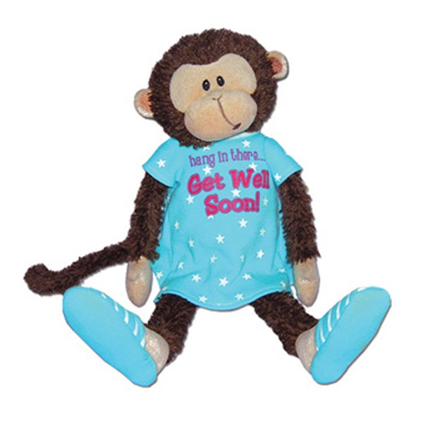 First and Main Mendin Monkey Plush