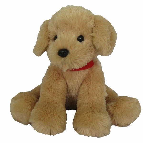 First and Main Pup E Dog Plush, Tan