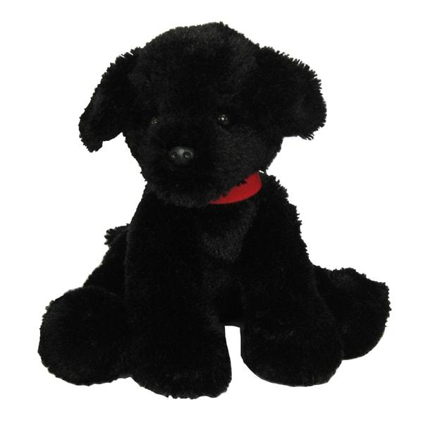 First and Main Pup E Dog Plush, Black