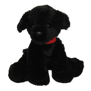First and Main Pup E Dog Plush, Black