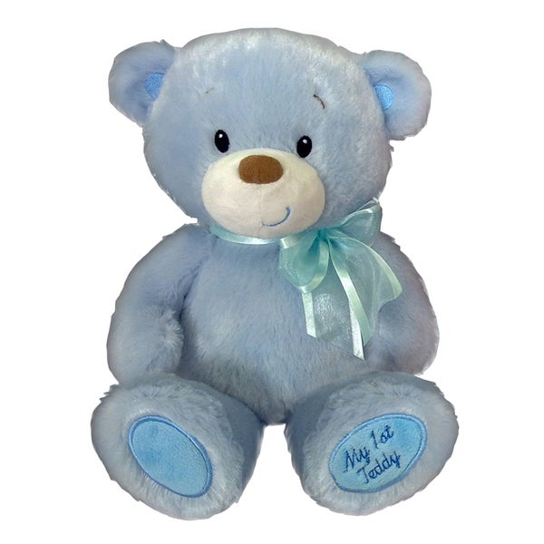 First and Main 10-Inch Blue Baby Cuddleups