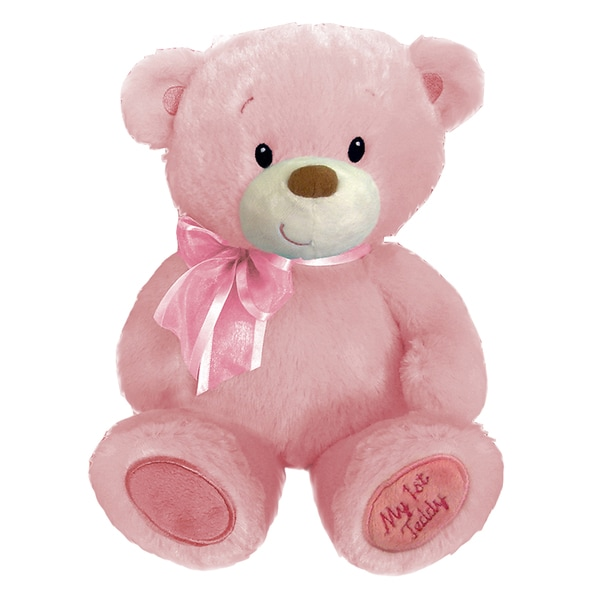 First and Main 15-Inch Pink Baby Cuddleups