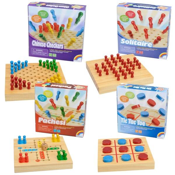 Summer Travel Wooden Game Set