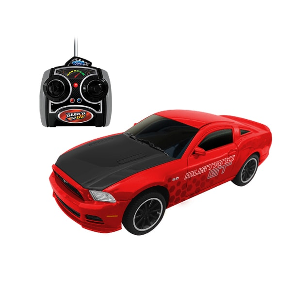 Gear'd Up Red Ford Mustang GT RC
