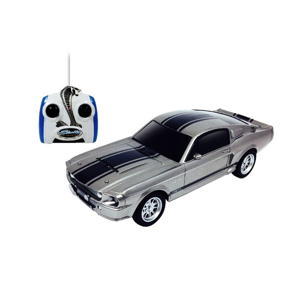 Silver Mustang Shelby GT500 RC Vehicle