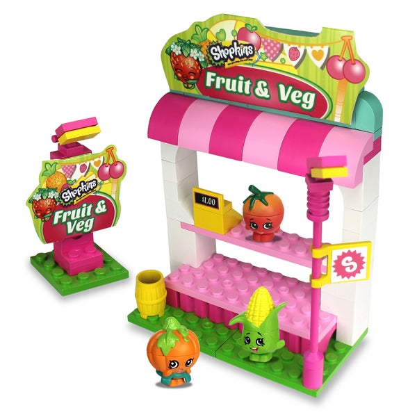 S3 Kinstructions Shopping Pack Fruit and Veggie Stand