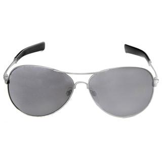 Hot Optix Men's Silver Metal Aviator Sunglasses