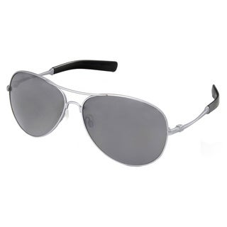 Hot Optix Men's Silver Metal Aviator Sunglasses
