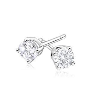 Azaro 14k Gold 2/3ct TDW Round Diamond Pushback Stud Earrings|https://ak1.ostkcdn.com/images/products/12043358/P18913978.jpg?impolicy=medium